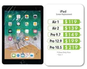 iPad Repair Pricing Near Me