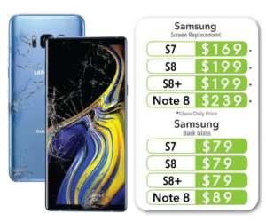 Samsung Repair Pricing Near Me